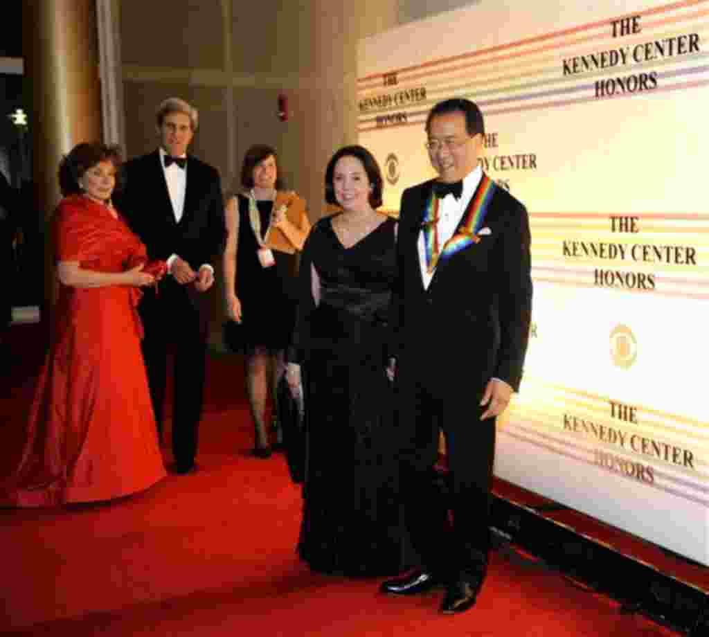 El violonchelista Yo-Yo Ma es uno de los homenajeados en la gala que honra a quienes han contribuido a la cultura estadounidense.