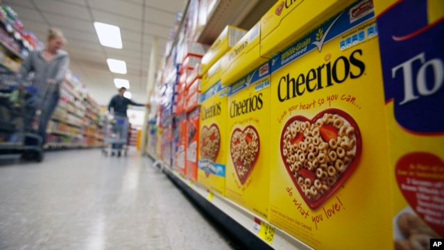 (File Photo) Food industry giant General Mills has removed genetically modified organisms (GMOs) from its Cheerios brand cereal in response to consumer demand.