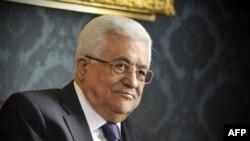 Palestinski predsednik Mahmud Abas