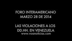 Las violaciones a los derechos humanos en Venezuela