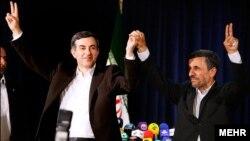حمایت جنجالی احمدی نژاد از رحیم مشایی