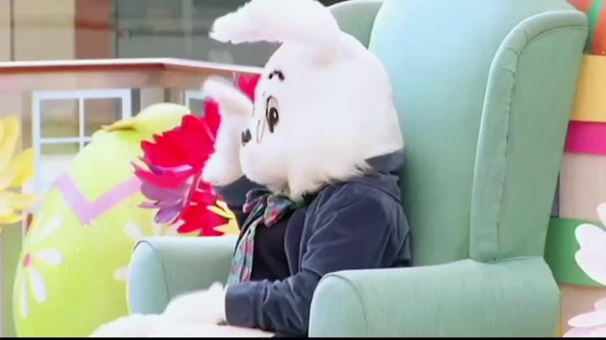 Пасхальный заяц для детей-аутистов
