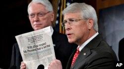 El senador Roger Wicker sería el objetivo de una carta envenenada aunque se desconoce la procedencia de la misiva.