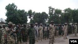 Sojojin dake yaki da mayakan Boko Haram