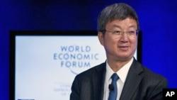 国际货币基金组织副总裁朱民9月15日在大连举行的夏季达沃斯论坛上讲话