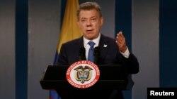 El presidente de Colombia, Juan Manuel Santos, fue elegido como premio Nobel de la Paz 2016.