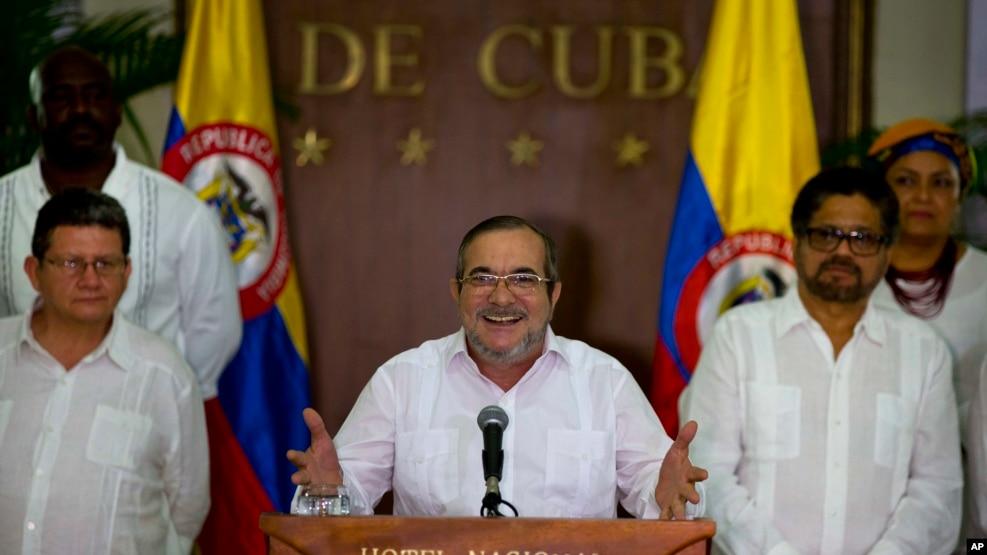 FARC သူပုန္ေခါင္းေဆာင္Rodrigeo Londono လံုးဝအပစ္ရပ္စဲဖို႔ အမိန္႔ထုတ္