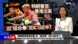 """海峡论谈:特朗普签香港法案 出""""组合拳""""狂K习近平?"""