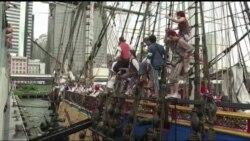 Французький фрегат став частиною святкувань Дня Незалежності США. Відео