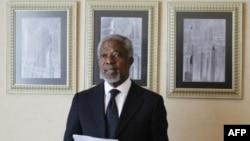 Кофи Аннан в Дамаске. 11 марта 2012г.