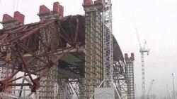 В Чернобыле начали монтаж нового саркофага