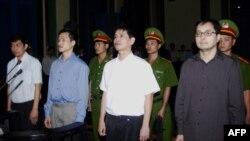 Осужденные демократические активисты во Вьетнаме
