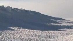 Мразот раскажува приказни за дамнешните времиња
