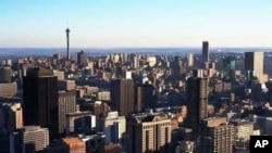 The inner city of Johannesburg