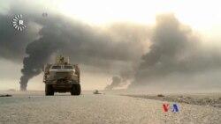 伊拉克和庫爾德戰鬥人員報告收復摩蘇爾之戰初勝