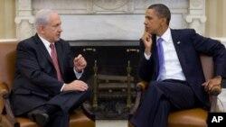 Le président Obama et le Premier ministre israélien Benjamin Netanyahu à la Maison-Blanche