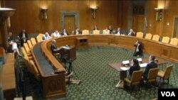 美中經濟與安全審查委員會就中國的商業間諜和數字貿易壁壘舉行聽證會。