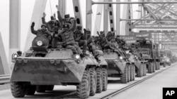 خروج نظامیان قشون سرخ اتحاد شوروی پیشین از افغانستان