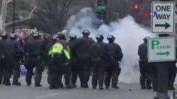 Cảnh sát và người biểu tình đụng độ ở thủ đô Washington