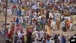 Wasu 'yan Adamawa da rikicin Boko Haram ya rabasu da muhallansu