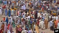 Mazauna kauyukan Adamawa na tserewa daga Boko Haram.