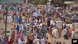 'Yan gudun hijira da rikicin Boko Haram ya raba da muhallansu