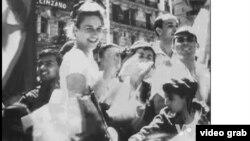 Hình ảnh Algeria mừng ngày độc lập 5 tháng 7 năm 1962