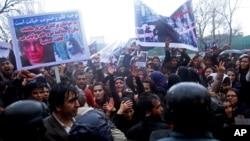 کشته شدن فرخنده مظاهرات گسترده را در سرتاسر افغانستان در پی داشت
