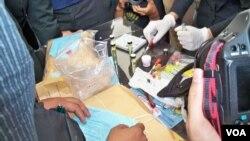 Barang bukti narkoba yang berhasil disita pihak berwajib di Jakarta. (Foto: Dok)