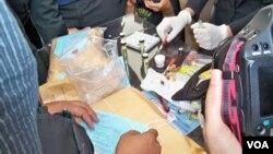 Barang bukti narkoba yang berhasil disita pihak berwajib di Jakarta (foto: dok/Andylala Waluyo).