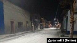 Calle del municipio de Ozuma, estado de México, el domingo 31 de julio.