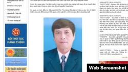 Thông báo của Bộ Công an về vụ bắt giữ ông Nguyễn Thanh Hóa.
