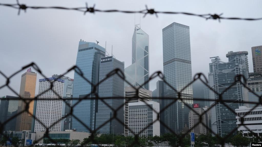 香港金融区 (2020年5月28日)