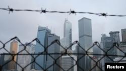 Небоскребы Гонконга (архивное фото)