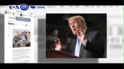 Nhiều cử tri 'sợ hãi' khi tỷ lệ ủng hộ ông Trump tăng vọt (VOA60)