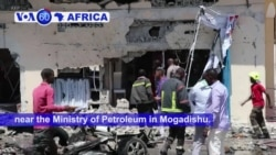 VOA60 Africa - Somalia: The detonation of explosives packed into a car has killed at least two people