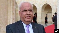 사에브 에레캇 팔레스타인 평화협상대표.
