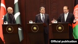 وزیراعظم نواز شریف، صدر عبداللہ گل اور صدر حامد کرزئی