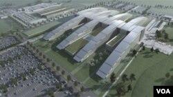 Novo sedište NATO-a u izgradnji.