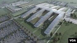 Novo sedište NATO-a čija je izgradnja počela u oktobru 2010, a radovi će biti završeni do kraja 2016.