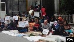 مستغنی: کمیشنری پناهندگان ملل متحد در انقره در بخش پناهندگان سوریه، عراق، و ایران مسئولیت دارد.