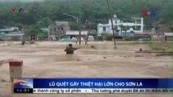 Lũ quét làm 7 người thiệt mạng, 4 người mất tích ở Sơn La