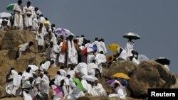 Alhazai wurin aikin hajji