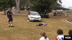 澳大利亞青少年 受行車安全教育