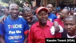 Paul Boro, présent à la marche citoyenne à Bamako, au Mali, le 17 juin 2017. (VOA/Kassim Traoré)