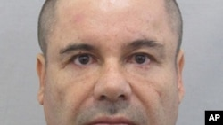 """墨西哥已抓獲在逃的毒梟""""矮子""""喬奎因·古茲曼(資料照片)"""
