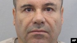 """This photo provided by Mexico's attorney general, shows the most recent image of drug lord Joaquin """"El Chapo"""" Guzman before he escaped from the Altiplano maximum security prison in Almoloya, Mexico, July 12, 2015."""