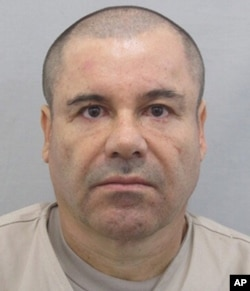 "FILE - This photo provided by Mexico's attorney general, shows the most recent image of drug lord Joaquin ""El Chapo"" Guzman before he escaped from the Altiplano maximum security prison in Almoloya, west of Mexico City, July 12, 2015."