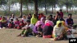 Rohingya refugees. (File)