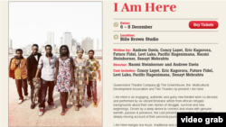 """I Am Here"" is being staged at the Queensland Theatre Company in Brisbane, Australia."